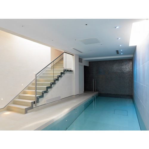 Subterranean Swimming Pool Kensington Haines Phillips Architects Riba Chartered Architects
